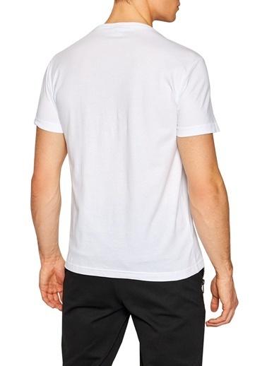 Emporio Armani  % 100 Pamuklu Bisiklet Yaka T Shirt Erkek T Shırt 3Kpt12 Pj7Cz 1100 Beyaz